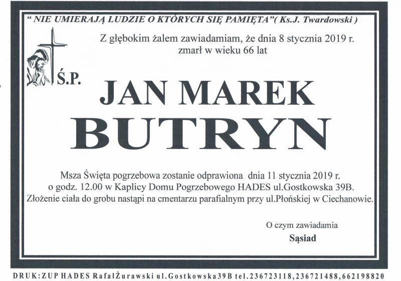 Jan  Marek Butryn