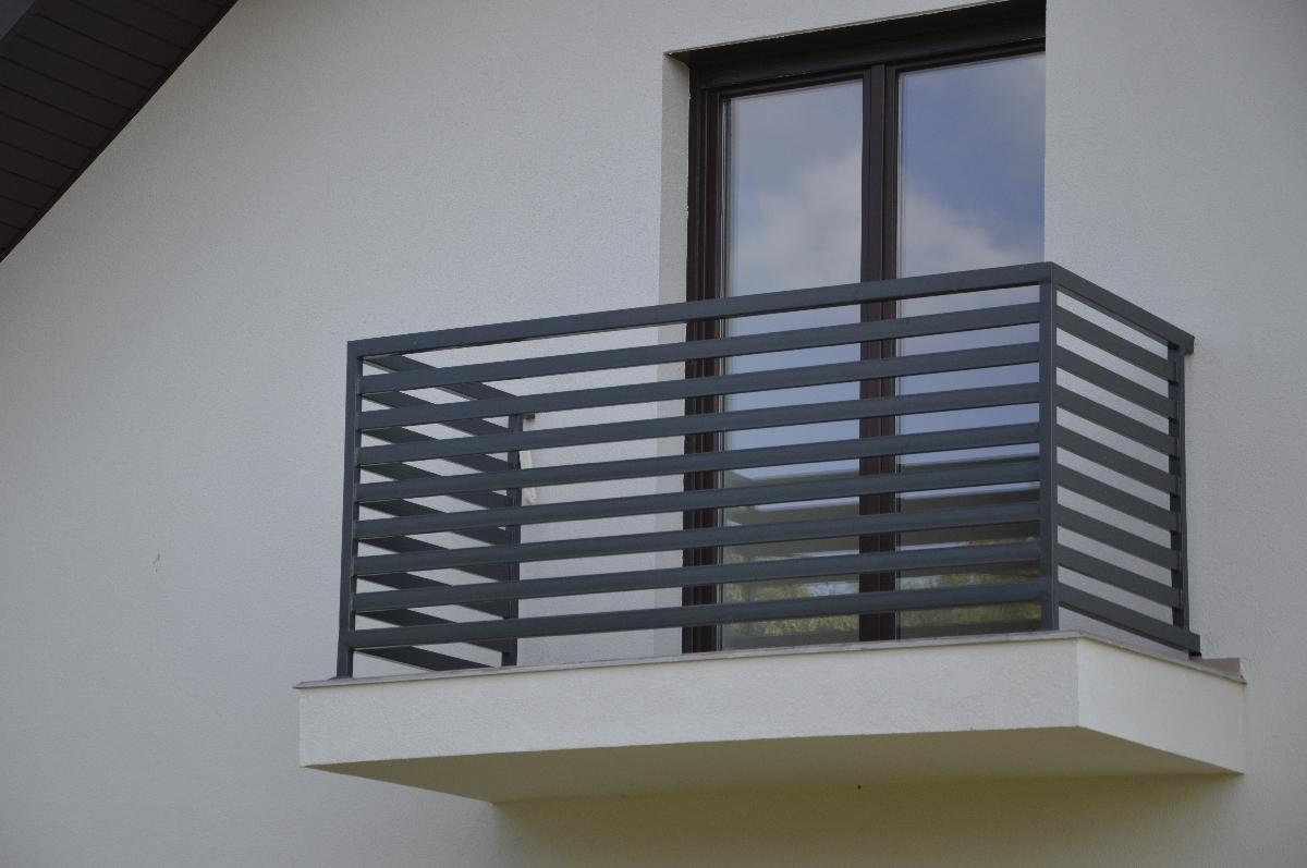 Inne rodzaje Nowoczesne Balustrady W 3 DNI Stalowe Balkonowe - PRODUCENT BM52